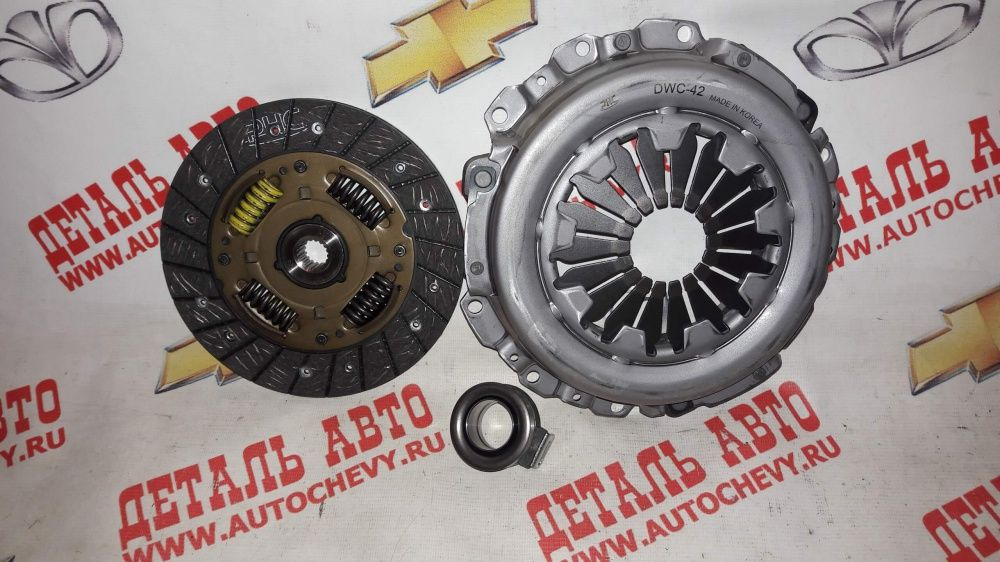 Комплект сцепления Авео 1,2 sohc dohc Спарк 1,0 Матиз best (VALEO: 826568)